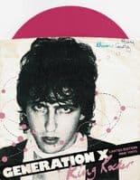 GENERATION X King Rocker Vinyl Record 7 Inch Chrysalis 1979 Pink Vinyl